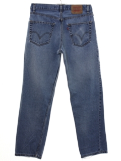 1990's Mens Levis 550 Relaxed Tapered Leg Denim Jeans Pants