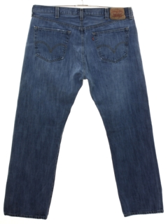 1990's Mens Levis 501 Straight Leg Denim Jeans Pants