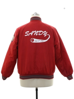 1980's Mens Baseball Style Jacket