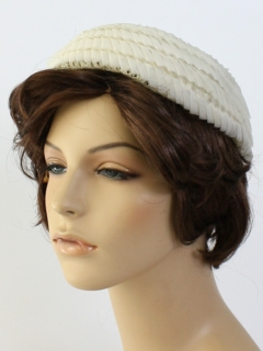 1950's Womens Accessories - Juliette Hat