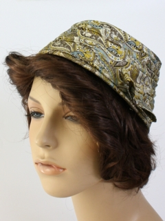 1960's Womens Accessories - Turban Style Hat