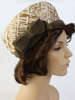 1950's Womens Accessories - Pillbox Hat