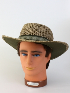 1990's Mens Accessories - Straw Hat