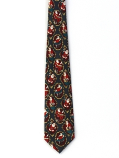 1990's Mens Wide Christmas Necktie