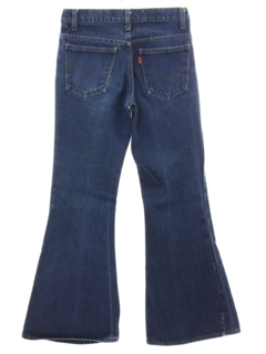 1970's Unisex Levis Big Bells Bellbottom Denim Jeans Pants