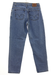 1980's Womens Levis 550 Relaxed Tapered Leg Denim Jeans Pants