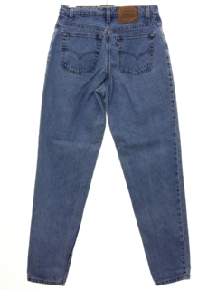 1990's Womens Levis 551 Relaxed Tapered Leg Denim Jeans Pants
