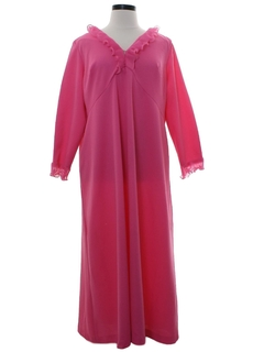 1970's Womens Maxi Knit Dress