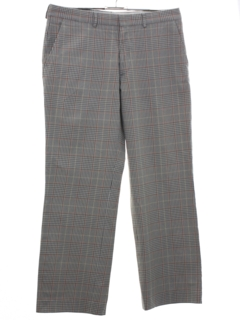 1990's Mens Plaid Slacks Pants