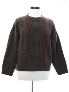 1980's Womens Salvatore Ferragamo Designer Sweater