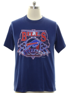 1990's Unisex Buffalo Bills Sports T-shirt