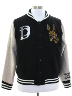 1990's Unisex Wool Letterman Jacket