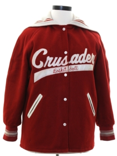 1970's Womens Wool School Varsity Jacket