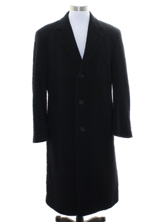 1990's Mens Cashmere Overcoat Jacket