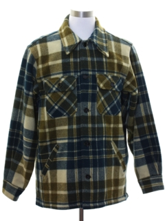 1970's Mens Wool CPO Jacket