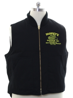 1990's Mens Canvas Work Vest