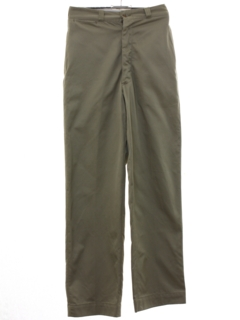 1950's Mens Button Fly Uniform Pants