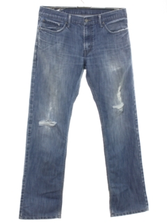 1990's Mens Grunge Levis 514 Straight Leg Denim Pants