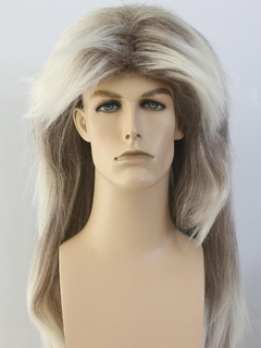 1980's Unisex Accessories - Mullet Wig
