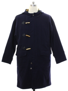 1990's Mens Nautical Overcoat Jacket