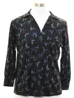 1980's Unisex Pullover Disco Shirt