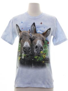 1990's Womens/Girls Animal T-shirt