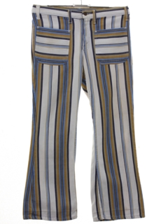 1960's Unisex Levis Big E Bellbottom Pants