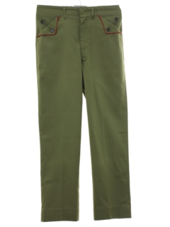1960's Mens/Boys Boy Scout Pants