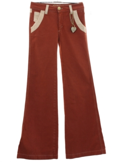1960's Unisex Mod Bellbottom Pants