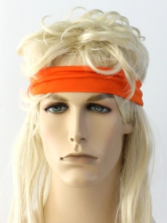 1980's Unisex Accessories - Totally 80s Style Sweatband Headband
