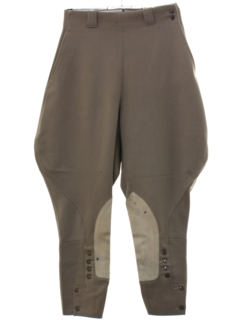 1940's Womens Jodhpur Riding Breeches Pants