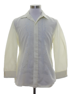 1970's Mens Sheer Hippie Shirt