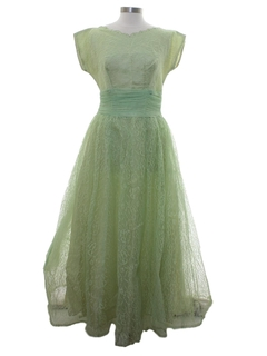 1950's Womens Fab Fifties Cocktail or Prom Dress