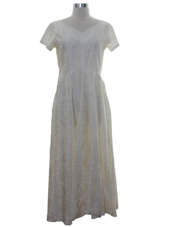 1980's Womens Wedding or Cocktail Dress