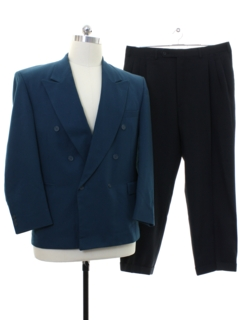 1980's Mens Totally 80s Swing Style Combo Suit