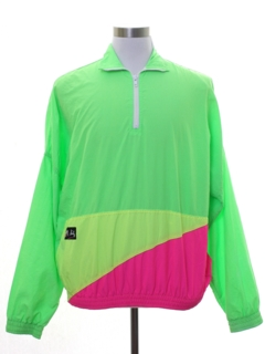 1980's Mens Totally 80s Neon Jacket