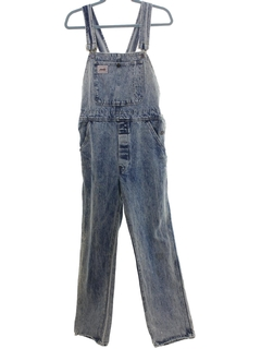 1980's Mens Grunge Denim Overalls