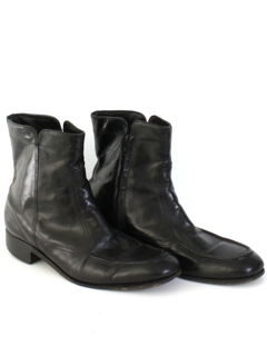 1970's Mens Accessories - Beatle Style Ankle Boots Shoes