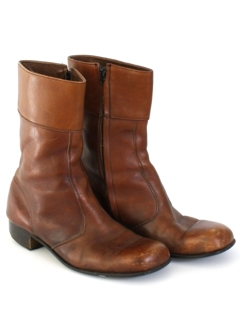 1970's Mens Accessories - Boots Shoes
