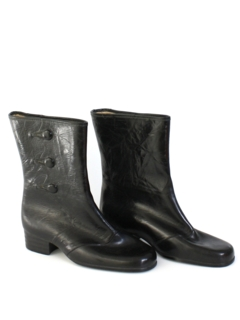 1980's Womens Accessories - Rain Boots Shoes