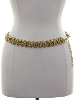 1970's Womens Accessories - Chain Belt