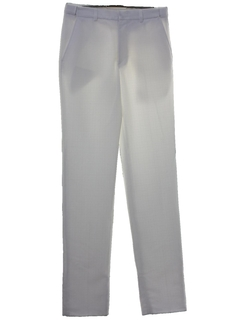 1970's Mens White Disco Pants