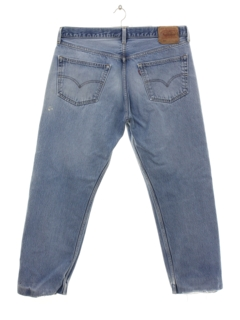 1990's Mens Grunge Levis 501s Denim Jeans Pants