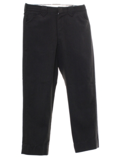 1970's Mens Mod Western Style Leisure Pants