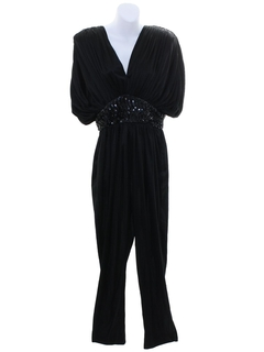 1980's Womens Totally 80s Cocktail Jumpsuit