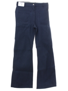 1970's Womens Navy Issue Bellbottom Jeans Pants