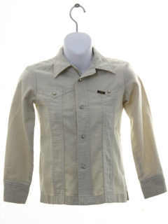 1970's Womens/Girls Western Shirt Jacket