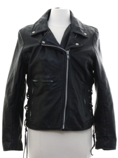 1980's Womens Motorcycle Jacket