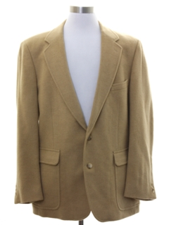 1990's Mens Camel Hair Blazer Sport Coat Jacket