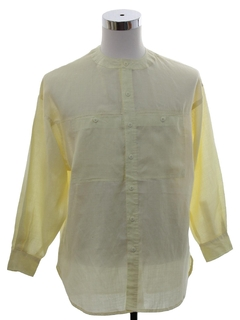 1980's Mens Hippie Style Tunic Shirt